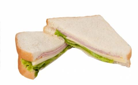 Ham and Cheddar Sandwich